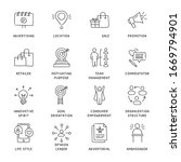 business concepts hand drawn... | Shutterstock .eps vector #1669794901