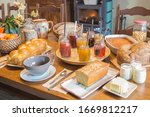 Rustic French Breakfast In A...