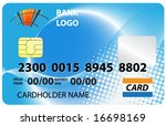 credit card | Shutterstock .eps vector #16698169