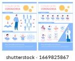 epidemiological coronavirus... | Shutterstock .eps vector #1669825867