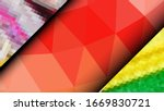 geometric design. colorful... | Shutterstock .eps vector #1669830721