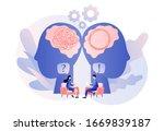 psychologist consulting patient....   Shutterstock .eps vector #1669839187