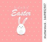 easter eggs vector illustration....   Shutterstock .eps vector #1669852507