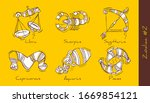 set of vector graphic... | Shutterstock .eps vector #1669854121