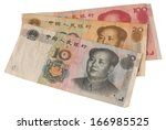Used Chinese Notes In White...