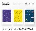 numeral children pattern with... | Shutterstock .eps vector #1669867141