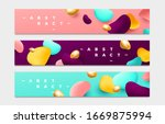 abstract background. banner...   Shutterstock .eps vector #1669875994