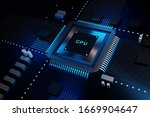 cpu computing systems.... | Shutterstock . vector #1669904647
