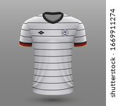 realistic soccer shirt 2020 ...   Shutterstock .eps vector #1669911274