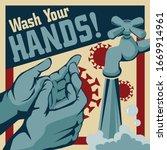 Wash Your Hands Vector...