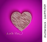 i love you greeting card with