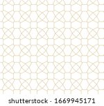 abstract geometric pattern... | Shutterstock .eps vector #1669945171