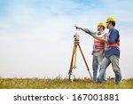 Surveyor Engineer Making...