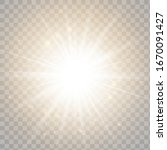 glowing light effect on...   Shutterstock .eps vector #1670091427