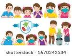 parent care for children when...   Shutterstock .eps vector #1670242534