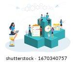 vector illustration of planning ...   Shutterstock .eps vector #1670340757