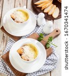 close up white coffee cup with... | Shutterstock . vector #1670341474