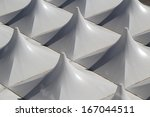 the top of a show tent. | Shutterstock . vector #167044511