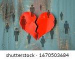 Broken Heart With Human...