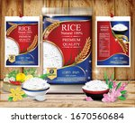 Rice Package Thailand Food Logo ...