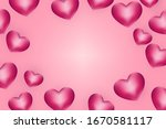 happy valentine's day... | Shutterstock .eps vector #1670581117