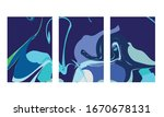 abstract color mix wall...   Shutterstock .eps vector #1670678131