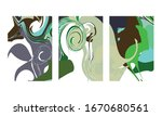 abstract color mix wall... | Shutterstock .eps vector #1670680561