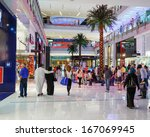 dubai  uae   november 9  inside ... | Shutterstock . vector #167069945