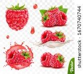3d realistic transparent... | Shutterstock .eps vector #1670740744