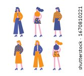 fashion characters girl... | Shutterstock .eps vector #1670810221