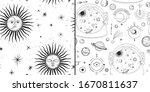 vector illustration set of moon ... | Shutterstock .eps vector #1670811637