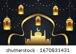 eid mubarak muslim festival... | Shutterstock .eps vector #1670831431