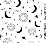 vector seamless pattern of...   Shutterstock .eps vector #1670891011