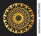 mandala graphic design for... | Shutterstock .eps vector #1670923681