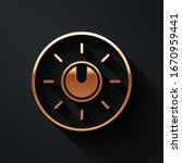gold dial knob level technology ...