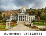 Entrance Of The Vermont State...