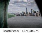 Manhattan View From Inside...
