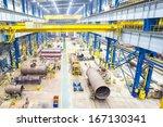 interior of workshop | Shutterstock . vector #167130341