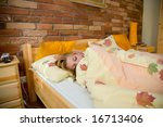 morning dream of the beautiful... | Shutterstock . vector #16713406