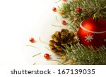 christmas tree garland        ...   Shutterstock . vector #167139035
