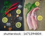 Fish Fillets Of Dogfish With...