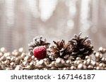 Decorative Pine Cone Christmas
