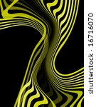 abstract illustration of golden ... | Shutterstock . vector #16716070