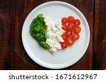 Ingredients For Caprese Salad...