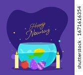 happy nowruz celebration...   Shutterstock .eps vector #1671616354