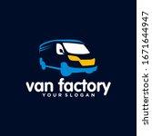 van logo vector design template | Shutterstock .eps vector #1671644947