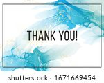 thank you marble texture.... | Shutterstock .eps vector #1671669454