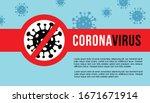 corona virus banner   poster... | Shutterstock .eps vector #1671671914
