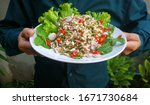 Eggs  Ant  Salad  With ...