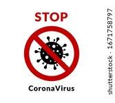 virus infection bacteria icon.... | Shutterstock .eps vector #1671758797